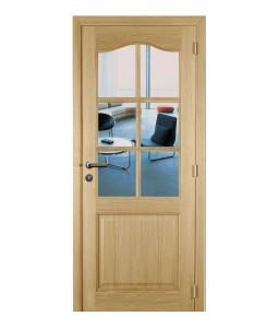 massieve binnendeur met glas