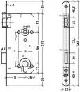 Schema Litto Cilinderslot