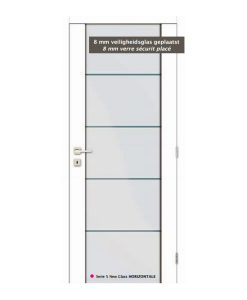Thys Serie 5 New Glas - Glas Oppervlak Wit