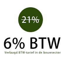6% btw tarief binnendeuren