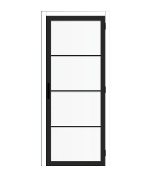 Thys-Steel-Look-4R-mat glas