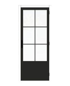 Thys-Steel-Look-6R-mat glas