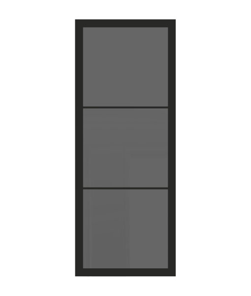 Thys Steel Look Loft 3R grijs gerookt glas
