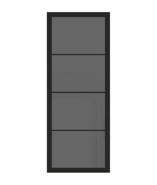 Thys Steel Look Loft 4R grijs gerookt glas