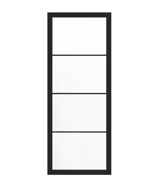 Thys Steel Look Loft 4R helder glas