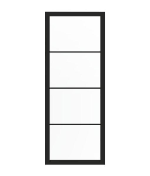 Thys Steel Look Loft 4R mat glas