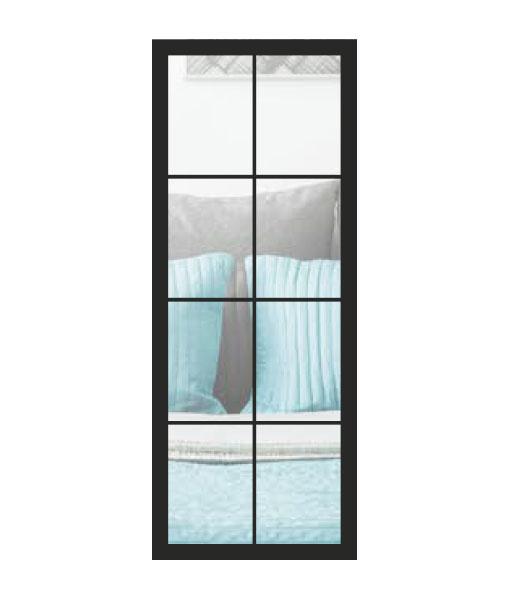 Thys Steel Look Loft 8R helder glas