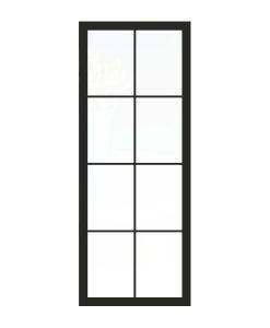Thys Steel Look Loft 8R mat glas